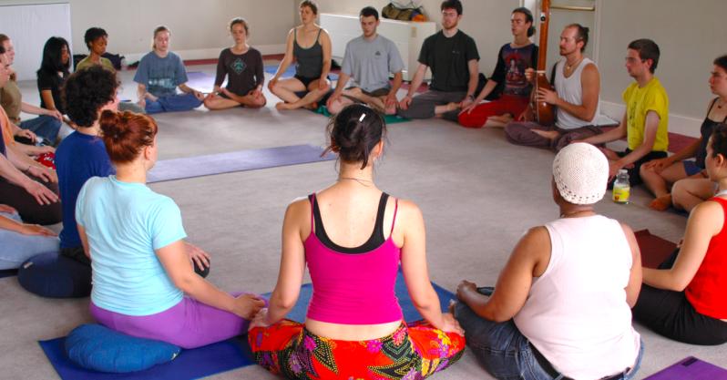 Meditation-circle