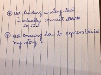 Story work blog 2